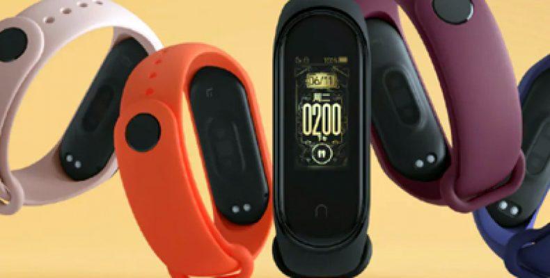 Xiaomi представила фитнес-браслет Mi Band 4 с NFC