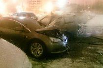 5 автомобилей горели этой ночью в Казани