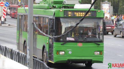 В Казани мужчина из Чувашии попал под колеса троллейбуса