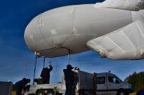 Росгвардия с аэростатом помогает ГИБДД выявлять грубые нарушения ПДД