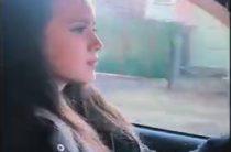 ВИДЕО: 16-летняя Алина Загитова управляет автомобилем