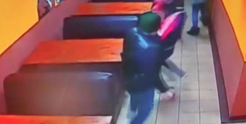 Конфликт в казанском кафе закончился стрельбой (Видео)
