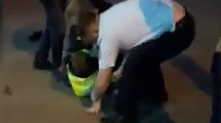 В Казани на «жилке» неадекватный водитель избил сотрудника ГИБДД
