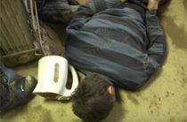 Опубликованы кадры задержания двух террористов на Сахалине