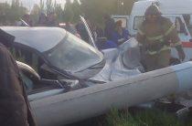 В Ульяновске водитель на «Приоре» погиб, врезавшись в столб