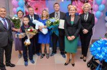 Как Минниханов и Голодец в Казани новый перинатальный центр открывали