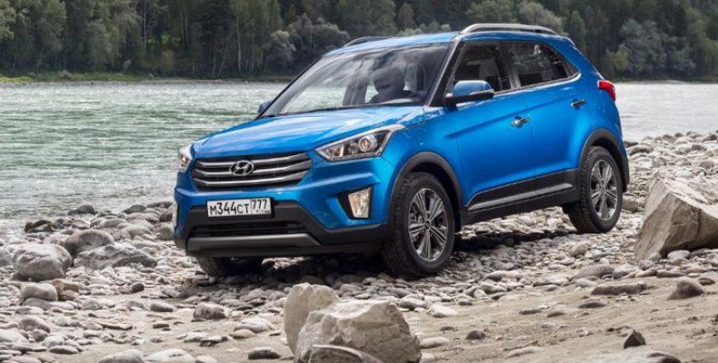 Hyundai Creta остается самым продаваемым автомобилем марки