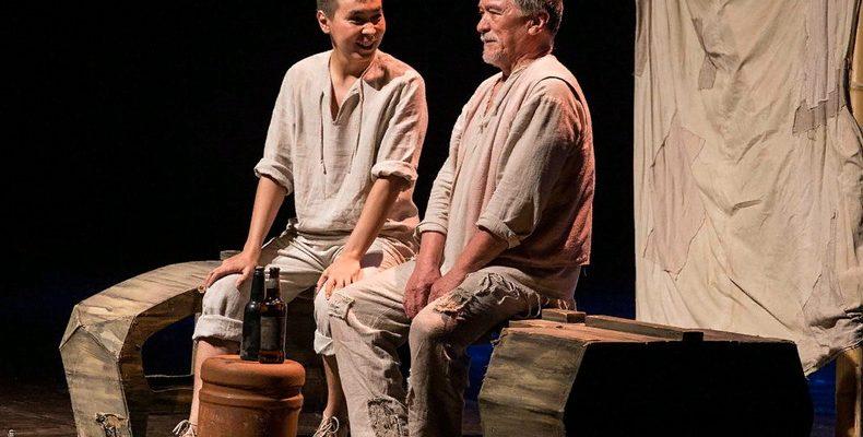 «Старик и море»от Хакасского национального драмтеатра на фестивале «Науруз»