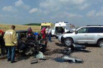 В Башкирии один человек погиб и трое пострадали при столкновении ВАЗа и «Тойоты Ленд Крузер»