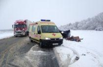 Два человека погибли на трассе в Башкирии в столкновении «ВАЗа и фуры