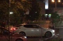 В Ульяновске девушка танцевала на крыше иномарки (Видео)
