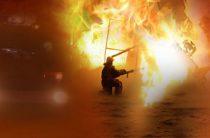 В Ростовской области горел склад с кондитерской продукцией