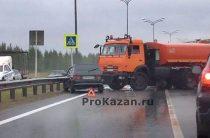 Пять автомобилей столкнулись на трассе М7