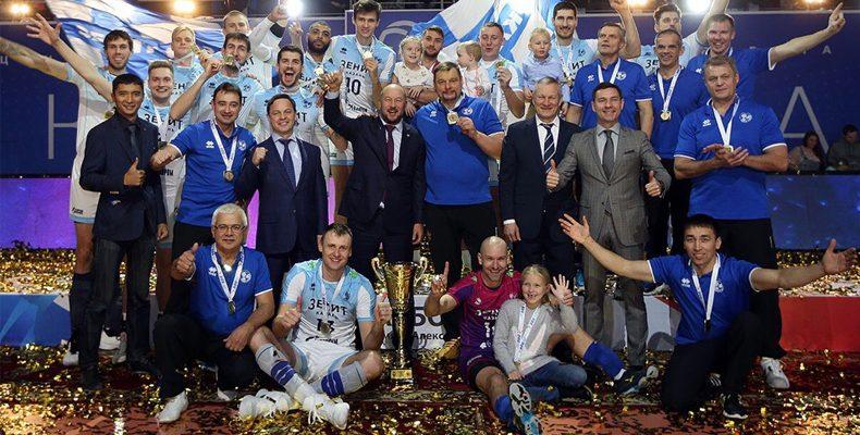«Зенит-Казань» завоевал Суперкубок России по волейболу. Уже седьмой