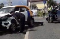 В Казани очередной автомобиль каршеринга «Яндекс.Драйв» разбили в ДТП