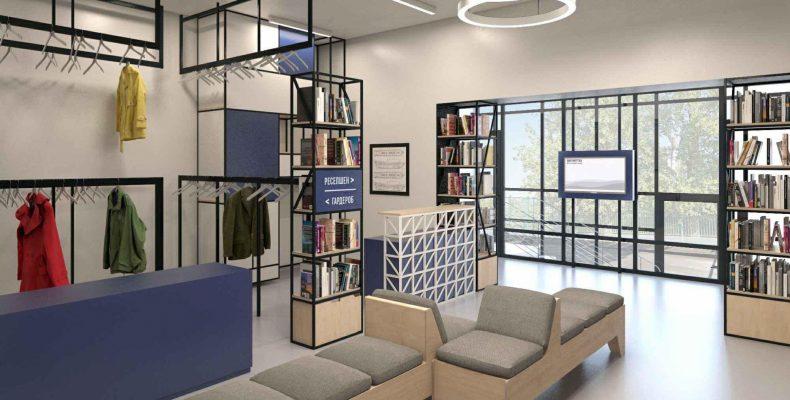 Ильсур Метшин осмотрел ход работ по созданию «библиотеки нового поколения»