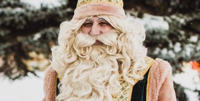 Кыш Бабай в тройке популярных Дедов Морозов России