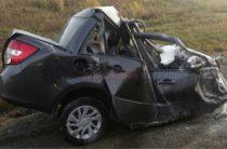 В Башкирии лоб в лоб столкнулись фура и «Лада Гранта», погибли два человека
