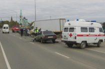 В Кировской области 25-летний водитель ВАЗа погиб при столкновении с грузовым автомобилем