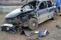 Двое парней на «Митсубиси» погибли в ДТП на трассе в Чувашии