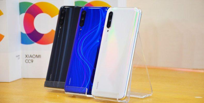 Xiaomi представила линейку новых смартфонов CC9