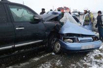 В Башкирии столкнулись Toyota Land Cruiser и «Лада», погибли три человека
