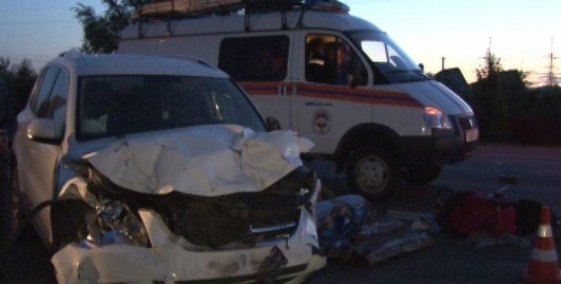 Под Курском в ДТП погибли 6 человек, включая пятерых детей