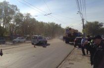 Автокран насмерть сбил школьницу на пешеходном переходе в Самаре