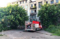 В Казани загорелся Мергасовский дом
