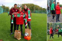 15-летний воспитанник детдома с другом побывали на тренировке «Рубина»